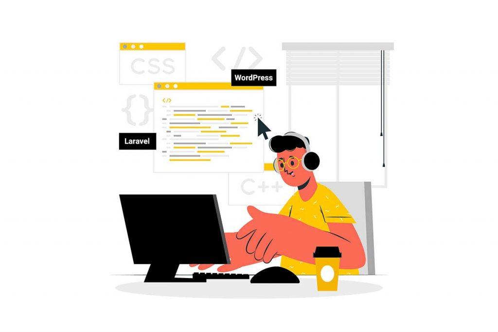 ساخت سایت فروشگاه آنلاین با وردپرس و لاراول