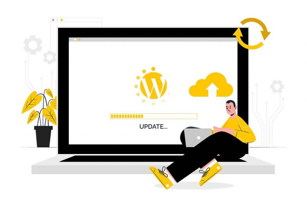 بروزرسانی وردپرس برای بهینه سازی سایت وردپرسی